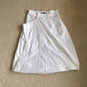 ⚡️SALE⚡️ ISCHIKO white origami skirt